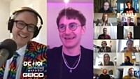 DC101's Mike Jones At Home Hangout With Dave Bayley Of Glass Animals