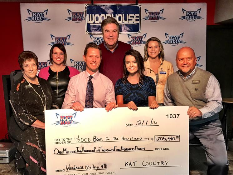 Clements Auto Sales >> iHeartMedia, KXKT, KAT 103.7, Woodhouse AUto Family, Woodhouse Challenge, Food Bank For ...