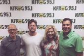 Brandon Lay Visits KFRG/Riverside-San Bernardino, CA