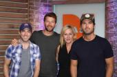 Brett Eldredge Chats With 'Ty, Kelly & Chuck'