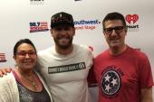 Chase Rice Joins Friends At WMZQ/Washington, DC