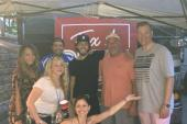 Chris Janson Hangs Out With Country Radio Friends