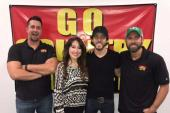Chris Janson Visits KKGO/Los Angeles