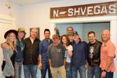 David Lee Murphy, Kenny Chesney Visit Reviver Records To Celebrate Most-Added