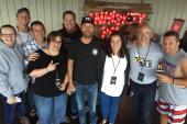 Dierks Bentley Hangs With Country Radio Friends