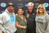 Garth Brooks & Trisha Yearwood Hang With KZSN/Wichita