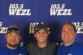 Granger Smith Hangs With WEZL/Charleston