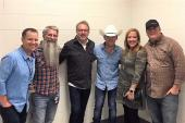 Justin Moore Hangs With WBUL/Lexington