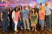 Kenny Chesney Hangs With Radio Friends