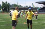 KMPS/Seattle PD Kenny Jay Completes Drills With Seattle Seahawks' Doug Baldwin