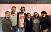 Ryan Hurd And Maren Morris Hang With WUSJ/Jackson