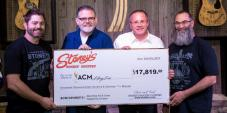 Stoney's Rockin' Country Delivers Check To Academy Of Country Music (ACM)
