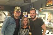 Walker McGuire Continues Radio Tour At WQMX/Akron