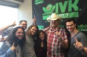 Levon Pays A Visit To WIVK/Knoxville