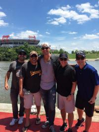 Brett Young Performs At CMA Fest
