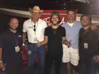 Chris Janson Hangs Backstage With WKMK/Monmouth-Ocean, NJ