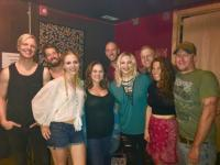 Delta Rae Visits Hometown And WNCB/Raleigh