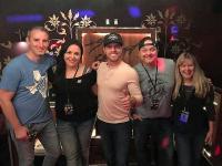 Dustin Lynch Visits Houston