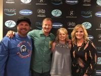 Garth Brooks And Trisha Yearwood Hang With KTST/Oklahoma City