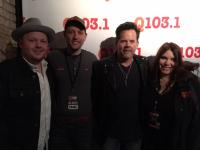 Gary Allan Hangs With WQNU/Louisville