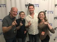 Josh Turner Celebrates #1 In Tucson