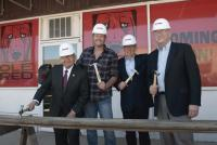 Blake Shelton Breaks Ground On Ole Red Tishomingo Location