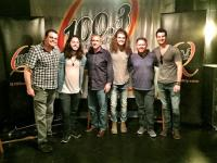 Levon Visits WCYQ/Knoxville
