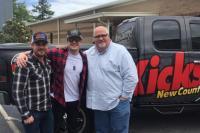 Seth Ennis Visits WKXC/Augusta