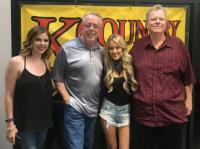 Brooke Eden Makes Home State Visit To WOGK/Gainesville, FL