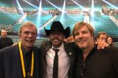 Aaron Watson Hangs With Bob Kingsley, Jack Ingram At The ACMs