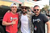 AJ McLean Hangs With KHKI/Des Moines