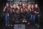 Brett Young Celebrates With Big Machine Family
