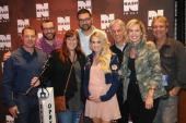 Carrie Underwood Hangs With WNSH/New York
