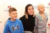 Cassadee Pope Visits Monroe Carell Jr. Children's Hospital