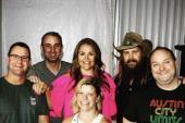 Chris Stapleton Hangs With Country Radio Friends