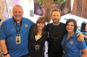 Dierks Bentley Celebrates With WXTU/Philadelphia