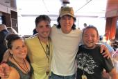 David Lee Murphy Hangs With WKMK/Monmouth, NJ