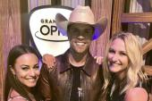 Dustin Lynch Celebrates Grand Ole Opry Induction With Radio Friends