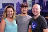 Dylan Schneider Rolls Through KBEQ/Kansas City On Radio Tour