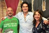 Joe Nichols Starts His Day With WNCY/Green Bay