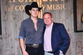 Jon Pardi Visits Academy Of Country Music