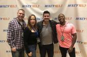 Josh Gracin Kicks It With WXCY/Wilmington Morning Team