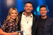 Kane Brown Appears On 'Live With Kelly & Ryan'