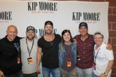 Kip Moore Catches Up With Radio Friends