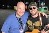 Mitchell Tenpenny Celebrates With WJVC/Nassau-Suffolk