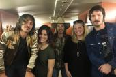 Midland Hangs With WSLC/Roanoke