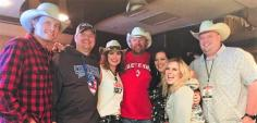 Toby Keith Hangs With KWBL/Denver Friends