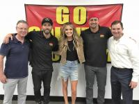 Carly Pearce Stops By KKGO/Los Angeles