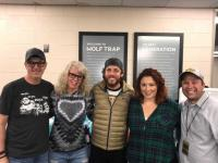 Chris Janson Catches Up With Country Radio Friends