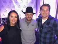 Cody Johnson Hangs With Radio Friends